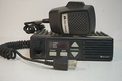 NOS Midland Legacy SP-430 2-Way RadioVHF FMW//Battery and Antenna No Charger