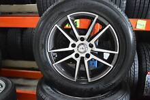 """4 SET 16"""" ALLOY WHEELS WITH TYRES 5 STUDS + MINT CONDITION Virginia Brisbane North East Preview"""