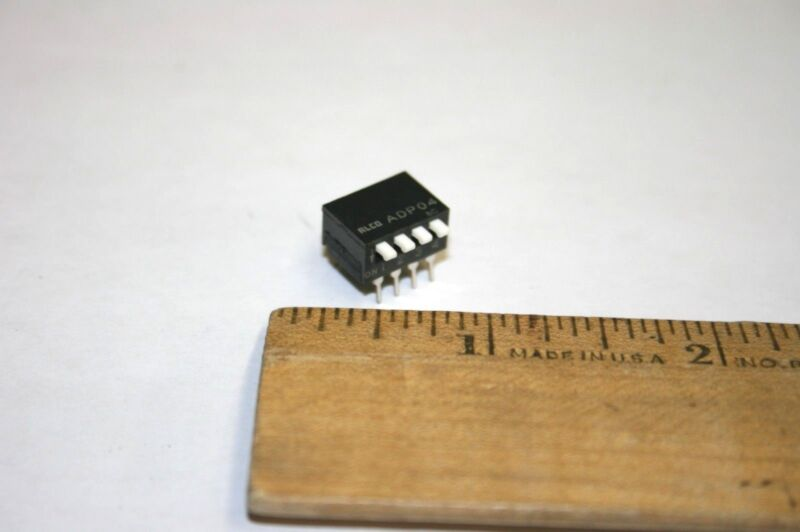 35 PCS Alco® Dip Switch--4 Position (SWITCH 10)