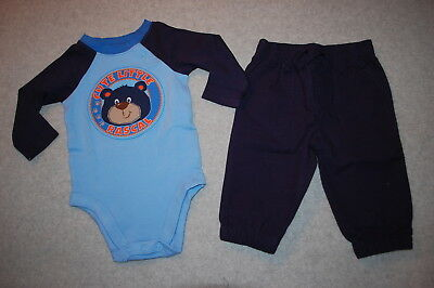 baby boys outfit navy and blue l