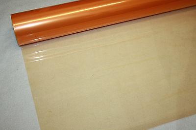 orange tinted cellophane Florist Quality Bouquet / Gift / Hamper / Basket Wrap