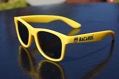Bacardi Sonnenbrille in gelb - Bacardi Razz Brille - Neon Partybrille ++++
