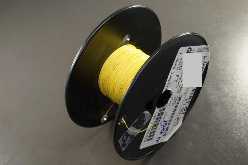 M16878/6-BAA-4 Anixter PTFE Insulating Tubing Extruded 32 AWG Yellow 100