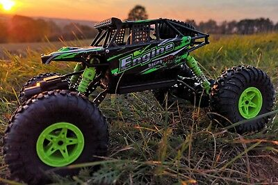 RC Crawler ROCK STAR 4WD Allrad ferngesteuertes 2,4 Ghz Auto Monster Truck