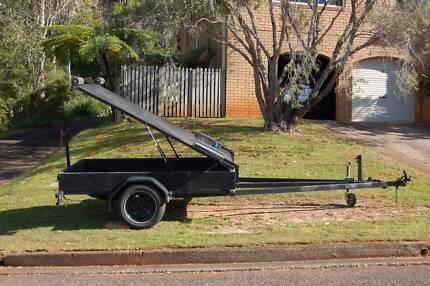 Box Trailer. Box dimensions 7'10in x 5ft.. 2.4m x 1.5m Port Macquarie 2444 Port Macquarie City Preview