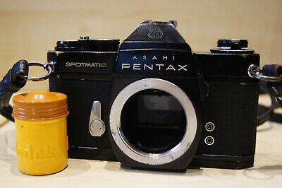 PENTAX SPOTMATIC SPII BLACK BODY