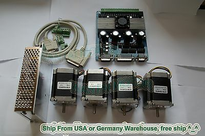 4axis Nema23 Stepper Motor 270oz-in3a2 Phase 6 Leads Cnc Kit