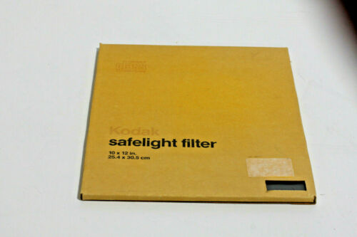 KODAK 10X12 SAFLIGHT FILTER #13