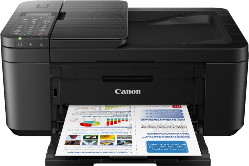 Canon - PIXMA TR4520 Wireless All-In-One Inkjet Printer - Black