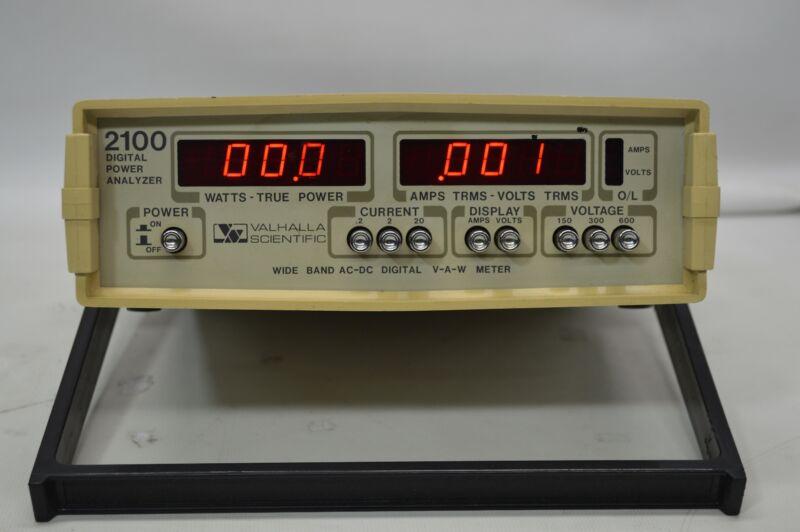 Valhalla Scientific 2100 Digital Power Analyzer