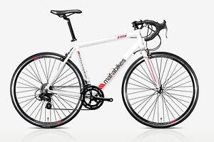 Mafiabikes TR6 Interceptor Race Road Bike Racer NEW MODEL White Small 53cm