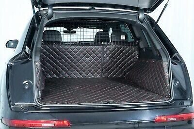 ab 2005 bis 2015 Kofferraumwanne Antirutsch passend für Audi Q7 5-Sitzig Bj