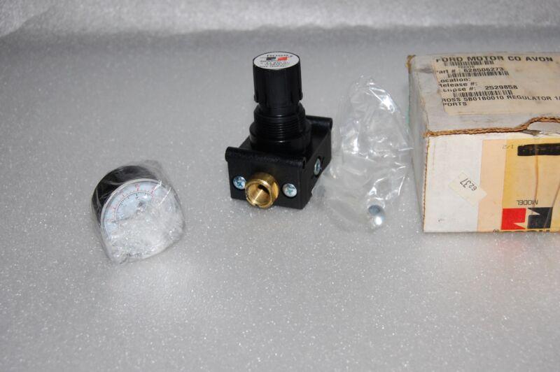 ROSS REGULATOR PUMP 5B00C0010 WITH PRESSURE GAUGE 5400A1002