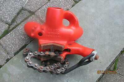 Ridgid 560 Top Screw Stand Chain Vice 18-5 Pipe New Cond.