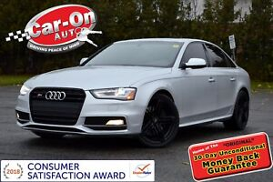 2014 Audi S4 3.0 V6 SUPERCHARGED 333 HP AWD LOADED