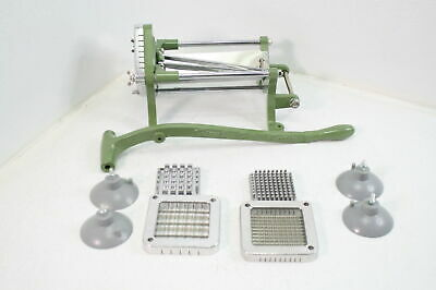 Tiger Chef French Fry Cutter Heavy Duty Vegetable Slicer Machine W Suction Ft