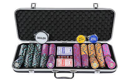 Pearl River Poker Chips Set - 14g 500 Piece Numbered Poker Set (£10 Off!)