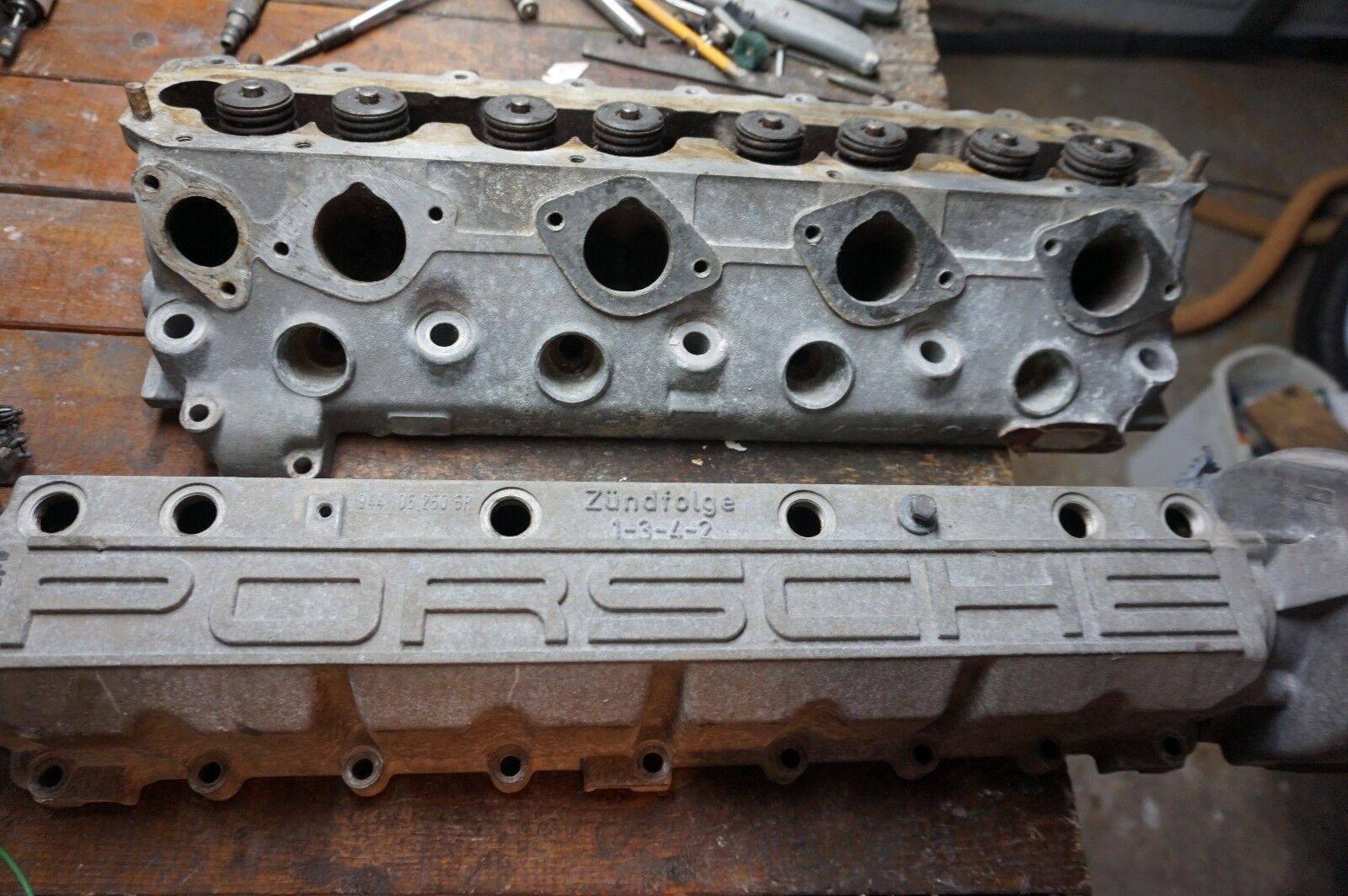 Porsche 944 Cylinder Head 94410403306 Housing 94410525007 Camshaft 94410515509