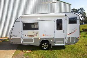2013 JURGENS SUNGAZER 16'6 FULL ENSUITE SHOWER & TOILET CARAVAN Gympie Gympie Area Preview