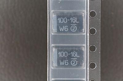 Lot Of 5 293d107x9016d2te3 Vishay Capacitor Tantalum 100uf 10 16v D Case Nos