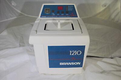 Branson Bransonic 1210r-dth Ultrasonic Cleaner Heated Water Bath