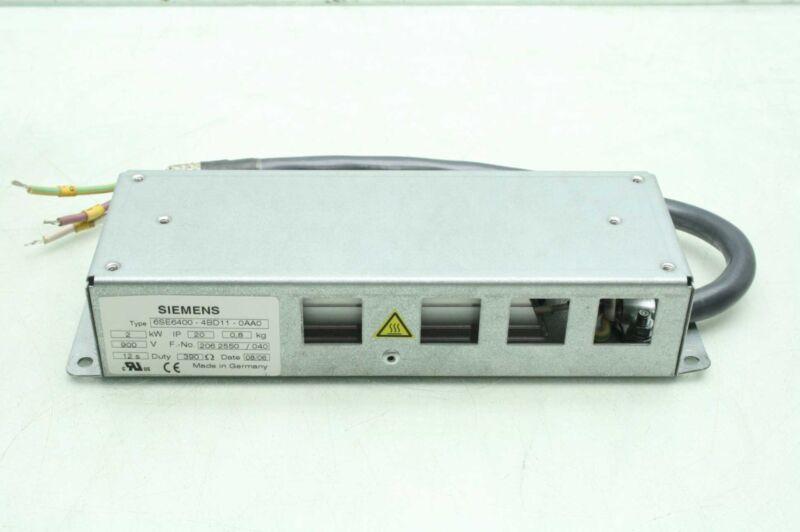 Siemens 6SE6400-4BD11-0AA0 Braking Resistor, 2 kW 390 ohms