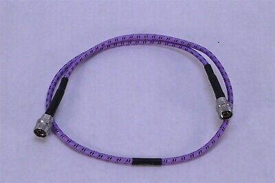 Gore Phaseflex Rf Cable Fc18nn-48 Mfr 3gw40 Sn05096899 4 Feet