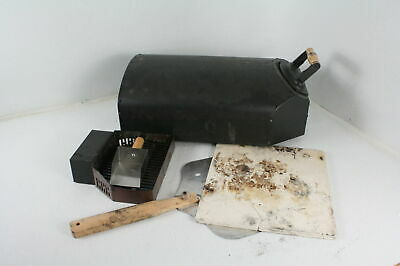 "SEE NOTES Bertello Outdoor Pizza Oven Black Pizza Peel Combo 12.5"" x 13.5"""