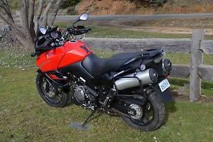 Suzuki V-Strom 2012 Launceston Region Preview