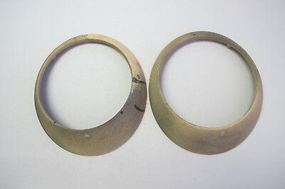 Used Porsche 911 912 Headlight Ring Pair (#2)