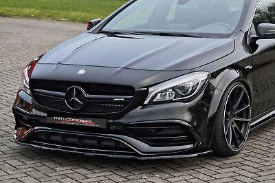 CUP Spoilerlippe für Mercedes A CLA W176 45 AMG Frontspoiler Spoilerschwert