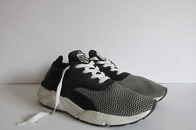 Bershka Men's Casual Sneakers Black/Gray Size EUR 43
