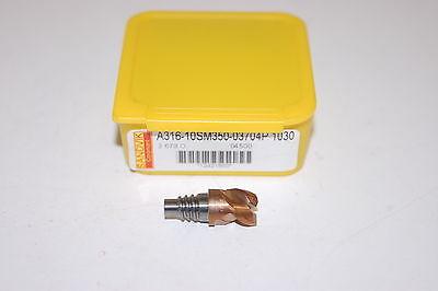 Nib Sandvik A316-10sm350-03704p 1030 Coromill 316 Solid Carbide Milling Head