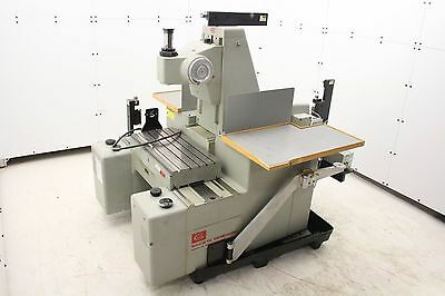 Societe Genevoise Sip-420m Universal Measuring Machine Hp Interferometer