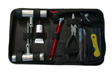 BOGBUSTER TYRE PUNCTURE REPAIR KIT 31 PCE RECOVERY 4X4 OFF ROAD