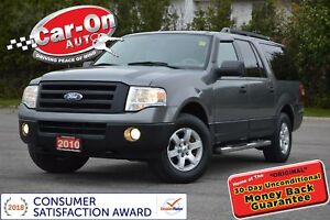2010 Ford Expedition Max XLT 4X4 8 PASSENGER TOW PKG PWR GRP ALL