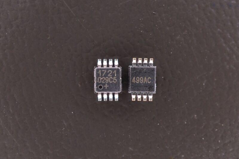Lot of 2 DS1721U+ Maxim Digital Temperature Sensor -55 to 125C 5.5V 8 Pin TSSOP