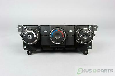2009-2012 Chevrolet Traverse Climate Control Unit with Rear Defrost & AC Switch