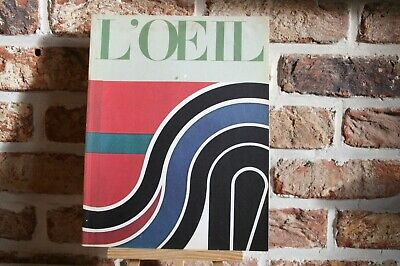 REVUE L'ŒIL N° 201-202  SEPTEMBRE-OCTOBRE 1971 .