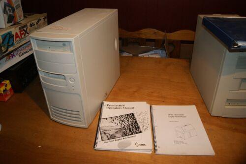 2404 DPM DIGITAL PLATEMASTER PLATE MAKER COMPUTER WITH MANUAL