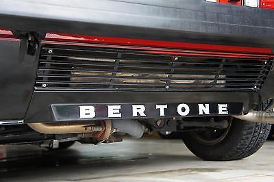 "New 1974-1988 FIAT Bertone X1/9 ""BERTONE"" Lower Rear Bumper Decal X19  for sale  Hernando"