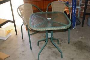 Table & Chair outdoor setting Balgownie Wollongong Area Preview