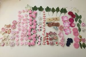 Scrapbooking / craft flowers - 152 pieces Geebung Brisbane North East Preview