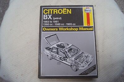 citroen bx workshop manual