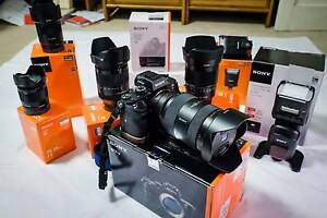 SONY A7R II - BODY ONLY plus separate sales of LENSES & ACCESSORI West Pennant Hills The Hills District Preview