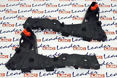 GENUINE Vauxhall ASTRA H - PAIR OF FRONT BUMPER to WING BRACKETS / GUIDES - NEW
