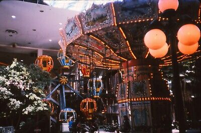 VERY RARE Edmonton Alberta Canada West Mall Picture Photo Slides Stores Rides (West Mall Stores)