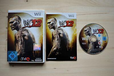 Wii - WWE 12 - (OVP, mit Anleitung) ()