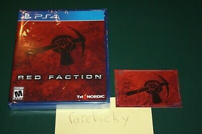 Used, Red Faction (PS4) NEW SEALED W/CARD, Y-FOLD MINT, LIMITED RUN GAMES #281! for sale  Shipping to Nigeria