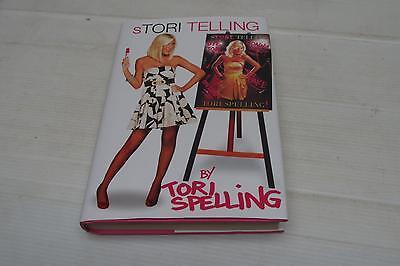 Stori Telling By Tori Spelling  2008  Hardcover Dust Jacket